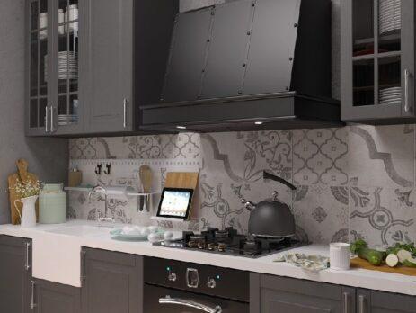 кухни в стиле лофт 39
