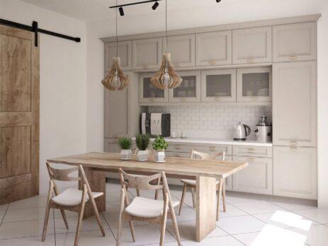 кухня Милан из массива дуба 26