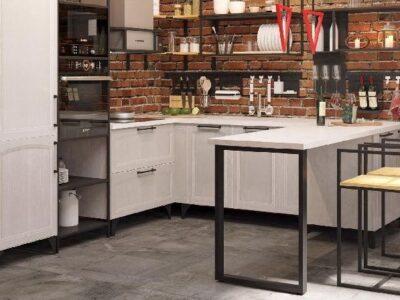 мебель для кухни лофт 11