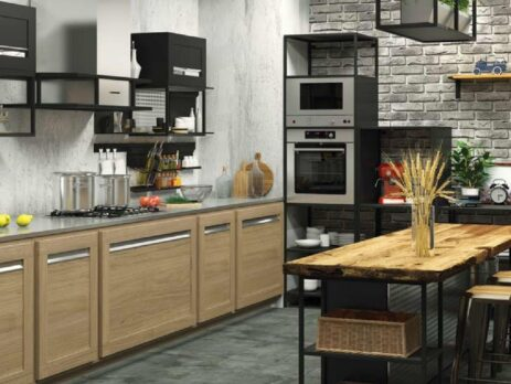 мебель для кухни лофт 12