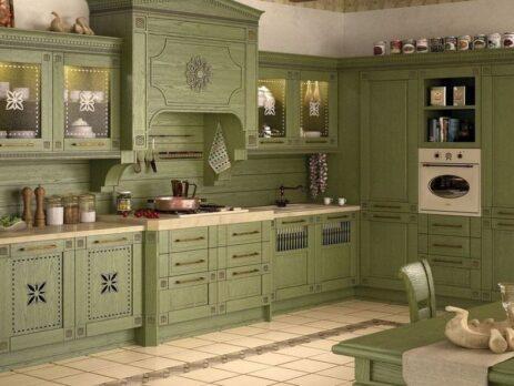 зеленные кухни - особенности 11