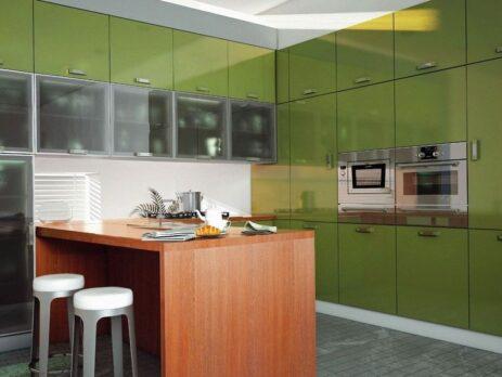 зеленные кухни - особенности 12