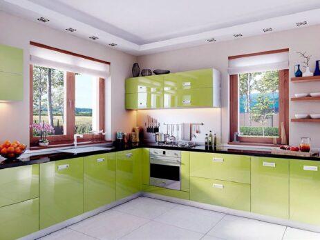 зеленные кухни - особенности 16