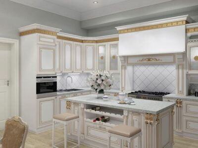 кухня Лукреция Золотая 21