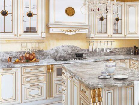 кухня Лукреция Золотая 25