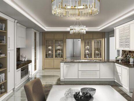 кухня Венето Бьянко 21