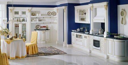 кухня Ника Д'Оро Белая 21