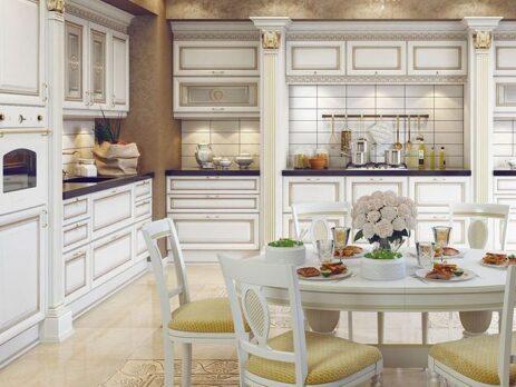 кухня Ника Д'Оро Белая 27