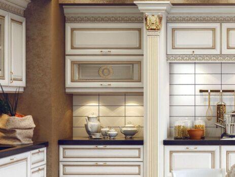 кухня Ника Д'Оро Белая 28