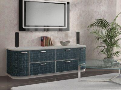 корпусная мебель с кожей 21